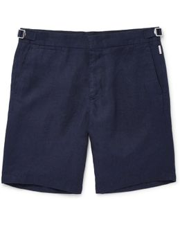 Norwich Slim-fit Linen Shorts