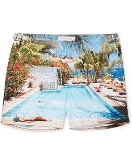 Setter Mid-length Printed Swim Shorts