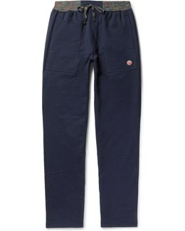 Tapered Cotton-jersey Sweatpants