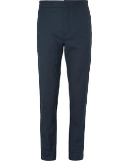 Slim-fit Woven Drawstring Trousers