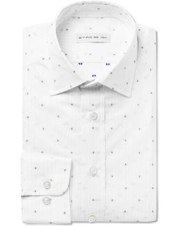 White Fil Coupé Cotton Shirt