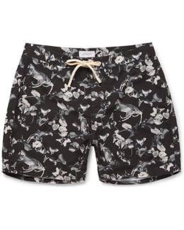 Colin Mid-length Printed Swim Shorts