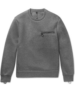 Bonded-jersey Sweatshirt