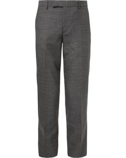 Grey Soho Slim-fit Wool Suit Trousers