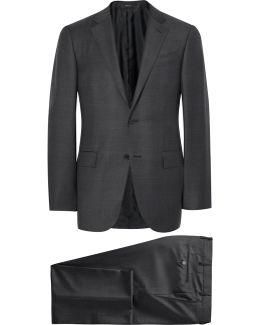Grey Trofeo Slim-fit Wool Suit