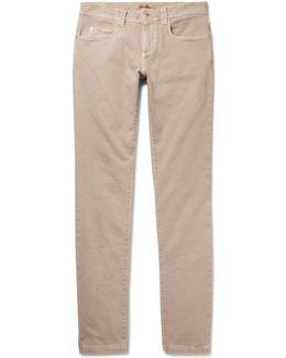 Tasche Slim-fit Stretch-denim Jeans