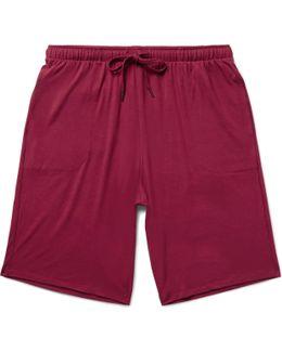Basel Stretch-micro Modal Jersey Shorts