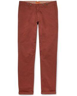 Rampin Stino Stretch-cotton Twill Trousers