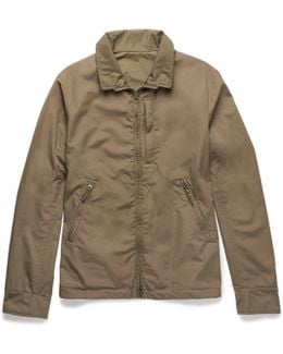 Reversible Cotton And Shell Jacket