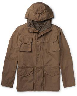 Cotton Hooded Field Jacket