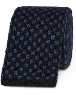 6cm Knitted Silk And Cashmere-blend Tie