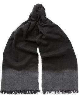 Dégradé Cashmere And Wool-blend Scarf