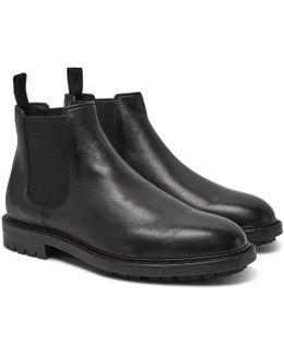 Full-grain Leather Chelsea Boots