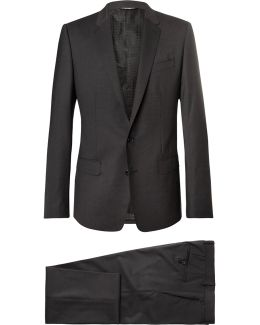 Grey Martini Slim-fit Virgin Wool-blend Suit