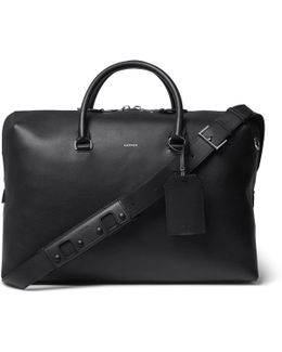 Full-grain Leather Holdall