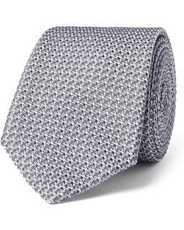 7cm Woven Silk Tie