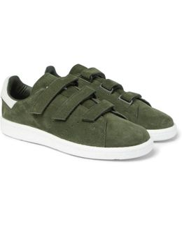 + White Mountaineering Stan Smith Suede Sneakers