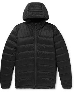 Brookvale Shell Hooded Down Jacket