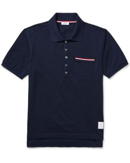 Mercerised Cotton-piqué Polo Shirt