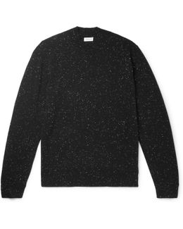 Slim-fit Donegal Cashmere Sweater