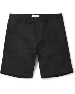 Slim-fit Cotton-drill Chino Shorts