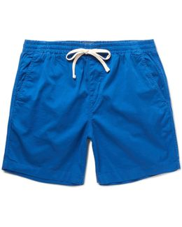 Dock Stretch-cotton Shorts