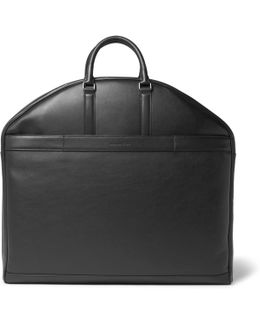 Pelle Tessuta Leather Garment Bag
