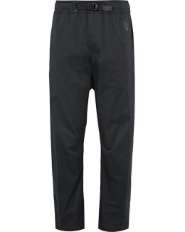 Lab Essentials Dwr-coated Stretch Cotton-blend Twill Trousers