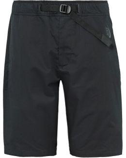 Lab Essentials Stretch-cotton Poplin Shorts