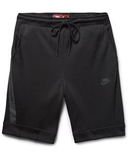 Cotton-blend Tech Fleece Shorts
