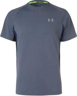 Transport Mesh-panelled Jersey T-shirt