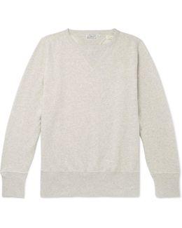 1930s Bay Meadows Mélange Loopback Cotton-jersey Sweatshirt