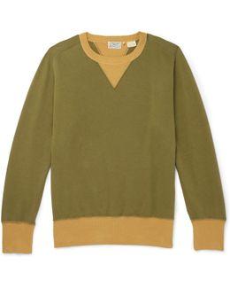 1930s Bay Meadows Garment-dyed Cotton-jersey Sweatshirt