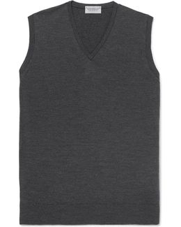 Hadfield Merino Wool Sweater Vest