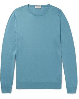 Hatfield Sea Island Cotton Sweater