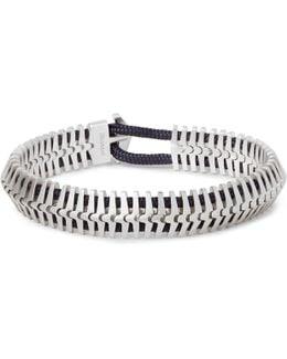 Klink Sterling Silver Cord Bracelet