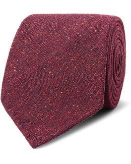 8cm Mélange Woven Tie