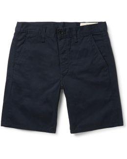 Standard Issue Cotton-twill Shorts