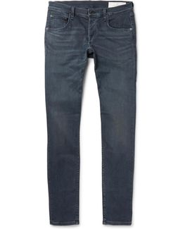 Richmond Slim-fit Stretch-denim Jeans