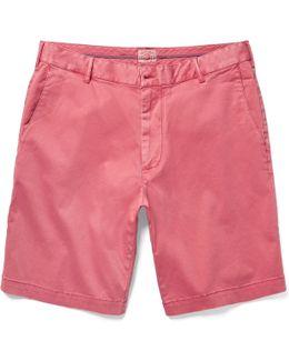 Slim-fit Stretch-cotton Chino Shorts