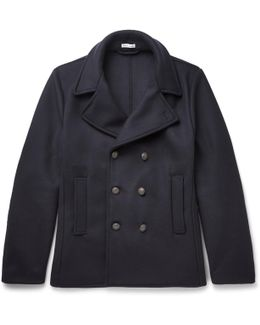 Felted Wool-blend Peacoat