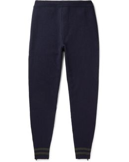 Slim-fit Tapered Wool Sweatpants