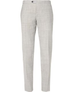 Fresco Slim-fit Wool Trousers