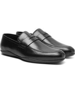 Downing Leather Penny Loafers