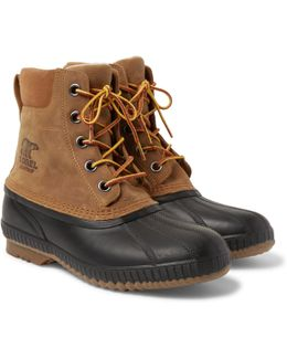 Cheyanne Ii Waterproof Suede And Rubber Duck Boots