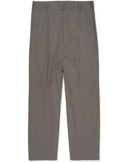 Astaires Cropped Cotton-blend Trousers