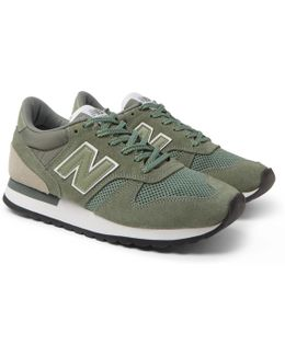 770 Suede, Leather And Mesh Sneakers