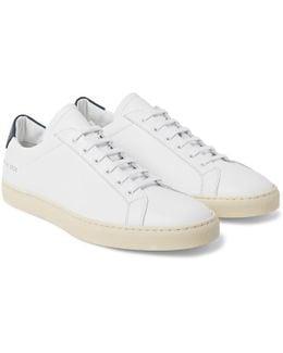 Achilles Retro Leather Sneakers