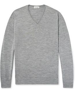 Blenheim Mélange Merino Wool Sweater