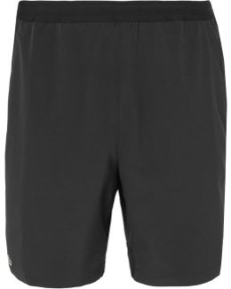 Novak Djokovic Mesh-panelled Stretch-jersey Tennis Shorts